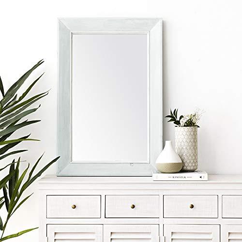 Kenay Home Daule Espejo Pared Decorativo, 60x90x4cm (AnchoxAltoxFondo)