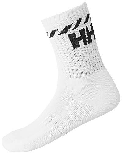 Helly Hansen Sport Baumwollsocken, White, 39-41