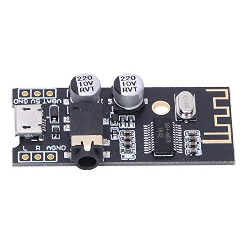 Módulo Bluetooth, placa receptora de audio, decodificador sin pérdidas, kit de bricolaje, módulo inalámbrico MH-MX8, placa receptora de audio Bluetooth, M18 M28 M38(M28 headphone jack version)