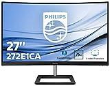 Philips 272E1CA/00 Monitor de 27' Curvo FHD (1920 x 1080 Pixeles, 4 ms, Altavoces, FreeSync/AdptiveSync, FlickerFree, HDMI, Displayport)