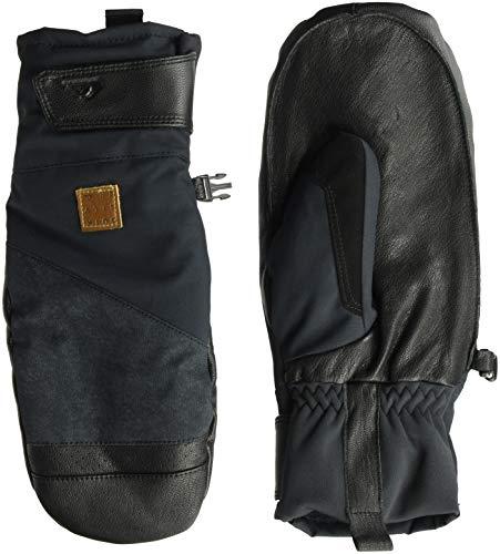 Quiksilver Men's Squad MITT Snow Gloves, black, M