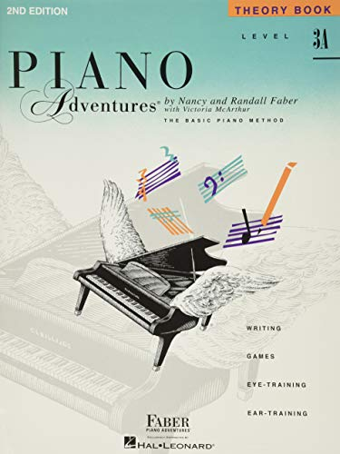 Level 3A - Theory Book: Piano Adventures