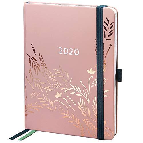 Agenda 2020 Everyday di Boxclever Press. Diario 2020 da Gennaio a Dicembre 2020. Agenda settimanale 2020 con panoramica mensile, pagine delle spese e pagine note con puntini. (Rosa Antico)