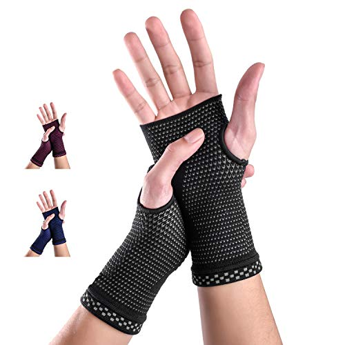 New Technology Breathable and Sweat-Absorbing Fabric Medical Compression Wrist Brace Sleeves...