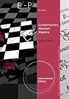 Contemporary Abstract Algebra, International Edition,  8th Edition