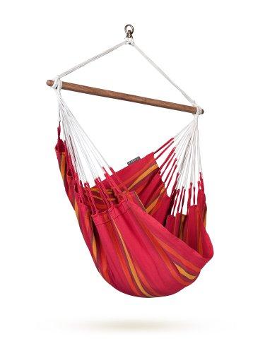 LA SIESTA CUC14-2 - Hamaca (Cereza), Color Rojo