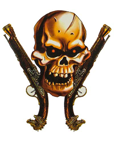 Pistolets de tatouage de pirate