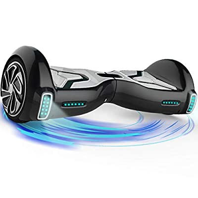 """TOMOLOO Hoverboard for Kids and Adult, 6.5"""" Two Wheels App Controlled Electric Self Balancing Scooter UL2272 Certified …"""