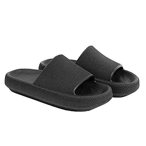 Zapatos de ducha no Sli, zapatos de ducha y sandalias de ducha, antideslizantes, puntera abierta, zapatos de suela gruesa para baño, 1 par Size38