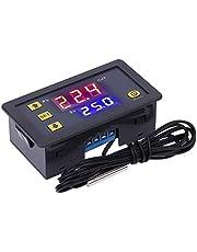 Gazechimp Thermostaat voor incubator, digitale temperatuurregelaar, temperatuurregelaar met verwarmingssonde, 220 V