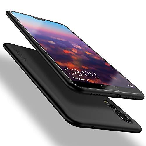 X-level Huawei P20 Pro Hülle, [Guadian Serie] Soft Flex Silikon Premium TPU Echtes Handygefühl Handyhülle Schutzhülle für Huawei P20 Pro Hülle Cover [Schwarz]