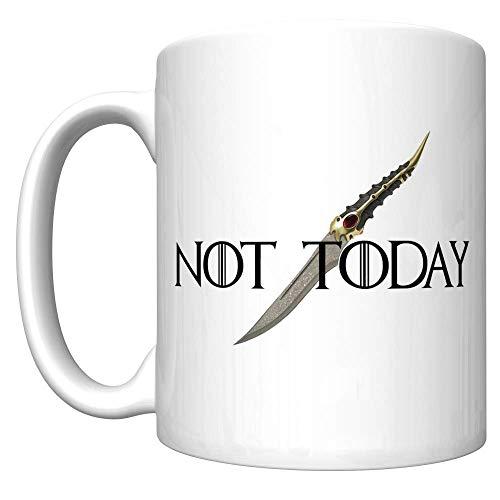 No hoy con la daga de Catspaw (juego de tronos de Arya Stark) [D] Taza