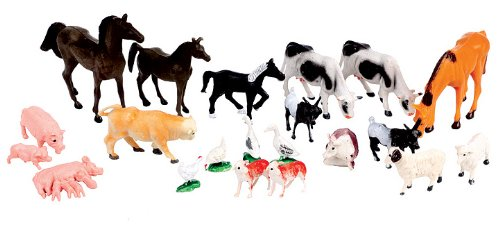 45 Bauernhoftiere Tiere und Figuren für Spiel Bauernhof