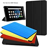 Fire HD 8 Case - Zerhunt Ultra Light Slim Fit Protective Cover with Auto Wake/Sleep for Fire HD 8 Tablet (7th and 8th...
