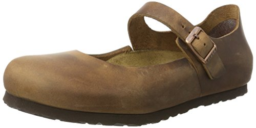 BIRKENSTOCK Shoes Damen Mantova Mary Jane Halbschuhe, Braun (Antik Brown), 37 EU