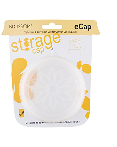 Blossom Storage eCaps, 4.75-inch, Clear