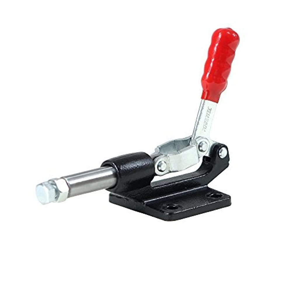 霜柔らかい盲信POWERTEC 20318 Ductile Iron Base Push/Pull Quick-Release Toggle Clamp, 500 lbs Capacity, 305-CM, 1PK [並行輸入品]