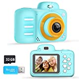 Phankey Kids Camera, Kids Digital Camera for Boys Girls Birthday Toy Gift Selfie