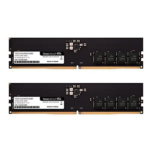 TeamGroup Elite DDR5 32GB Kit (2 x 16GB) 4800MHz (PC5-38400)