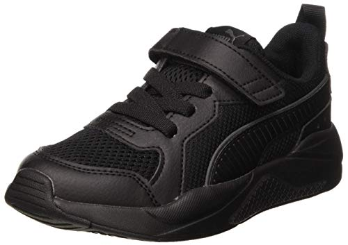PUMA X-ray Ac Ps Leichtathletik-Schuh, Noir Gris Anthracite, 32 EU