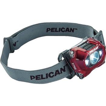 Pelican 2760 Headlamp  Red