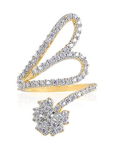 Fasherati elegante anello regolabile per le donne
