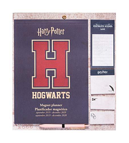 Erik - Planificador mensual de imán para nevera 2019/2020 Harry Potter