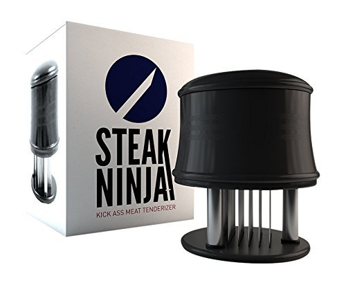 Steak Ninja Meat Tenderizer 56 Stainless Steel Blades for Faster Marinating amp Cooking Times