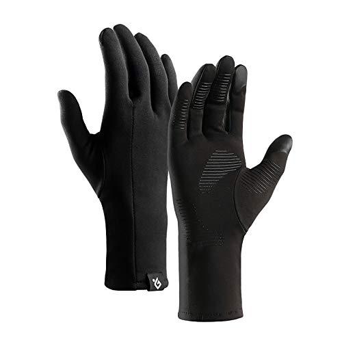 Handschuhe Winter Outdoor Sport Vollfingerhandschuhe halten den Touchscreen für Männer und Frauen Winddicht, rutschfest und samtleicht beim Bergsteigen wasserdichte Windschutzhandschuhe