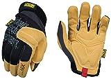 Mechanix Wear PP4X-75-009 Material4X Padded Palm Work Gloves (Medium, Brown/Black)
