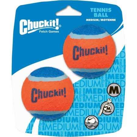 Chuckit Tennis Ball, 2 Pelotas Perros Compatible Lanzador