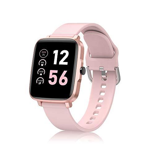 Smartwatch Uomo Donna Orologio Fitness Tracker Impermeabil IP68 1.54   Full Touch Bluetooth Smart Watch con Cronometro Notifiche Messaggi Orologio Sportivo Calorie Activity Tracker per Android iOS