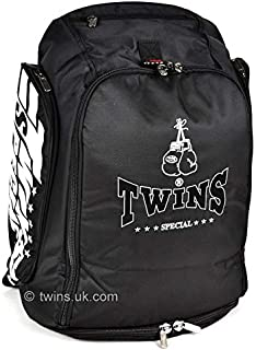 Twins Special Black Rucksack Gym Bag