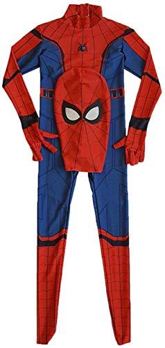Xyfw Spiderman: Homecoming, Spiderman Costume Anime Zentai Costume Adulto Uomini Film Costumi Cosplay Costume Tutina Tutina,Child,M