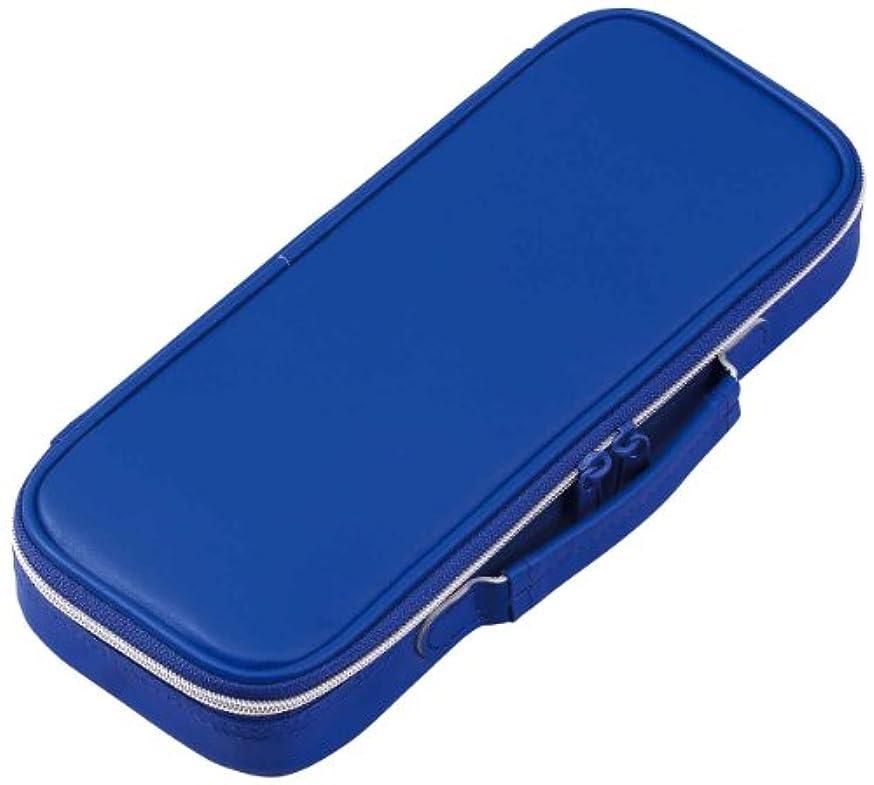 Reimeifujii pen case top liner leather Blue FSB122A