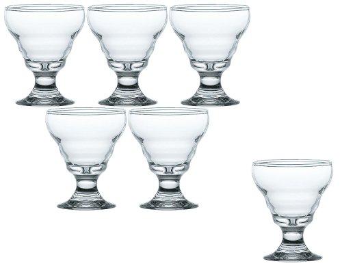東洋佐々木ガラス『ミニパフェ 6個セット』
