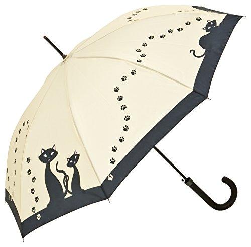 Regenschirm mit Motiv Schwarze Katzen