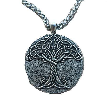 Halskette Wikinger Lebensbaum Yggdrasil