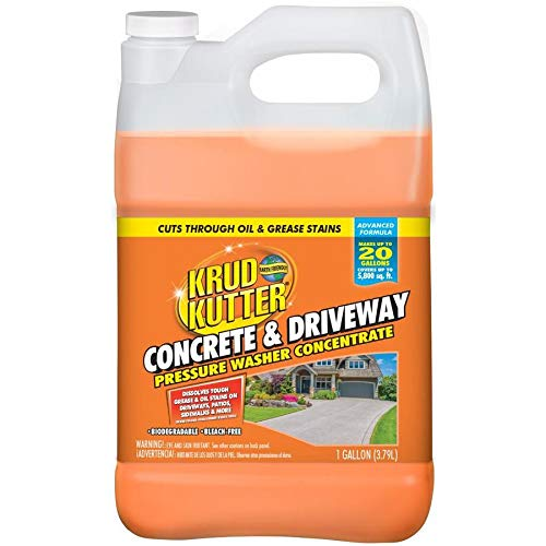 Krud Kutter 1-Gallon Driveway Pressure Washer Cleaner