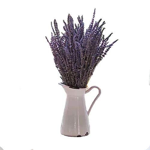 30 Los Tallos Secos Plantas de Lavanda Flores Rama Floral púrpura del Ramo de la decoración del hogar Accesorios Decoración del Partido del Regalo de Boda Flores Artificiales