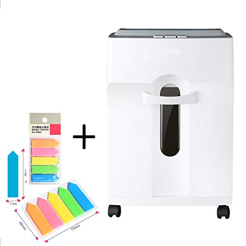 Fantastic Prices! XXLHH 6-Sheet Micro-Cut Paper/CD/Credit Card Shredder, 10 Minutes Running Time, 65...