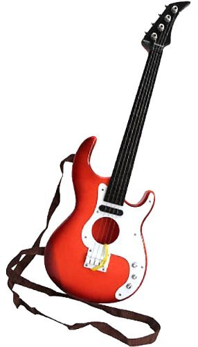 本格 49cm 子供用 おもちゃ ギター 配線 無し 持ち運び 楽々