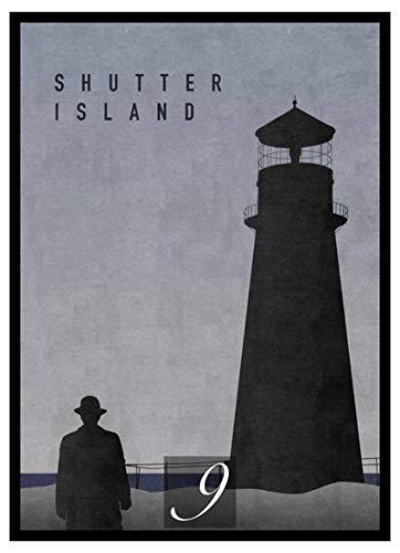 Cuadros DecorativosCartel Decorativo de la Pintura del hogar de la película de Shutter Island 60x90cm