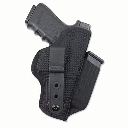 Gunhide, M42, Tuck-This II, Inside The Pants Holster, Fits SIG SAUER P365, Ambidextrous, Black Nylon