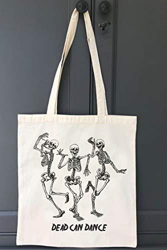 chille Einkaufstasche | Baumwoll-Tragetasche Motiven | praktischer und reißfester Shopper | Dead Can Dance