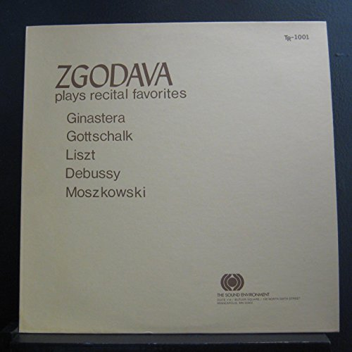 Zgodava - Plays Recital Favorites - Lp Vinyl Record