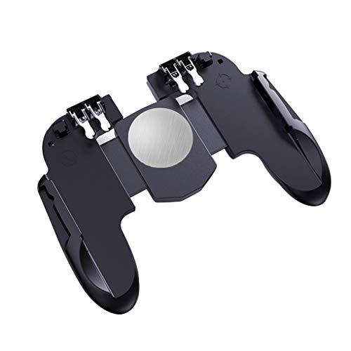 H9 Game Controller Lüfter Gamepad Sensitive Trigger-Joystick, Controller-Handy Schwarz, Gewöhnliche