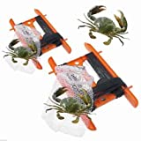 DPNY 2 x Crabbing Line with CRAB NET On Reel Crab Bag Weight Fishing NO HOOKS SAFE