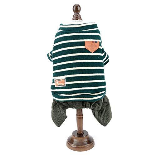 Smlee_Lucky_Store - Jersey para Perro con Forro Polar cálido para...