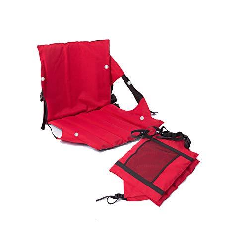 APXZC Outdoor-multifunctioneel draagbaar vouwkussen, met Back Grid Bin, voor eenvoudig opbergen, eendelige handgreep, duurzaam, slijtvast, voor uitstapjes, camping, familie, kantoor